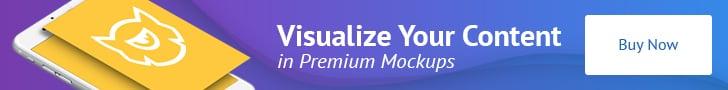 premium mockups banner