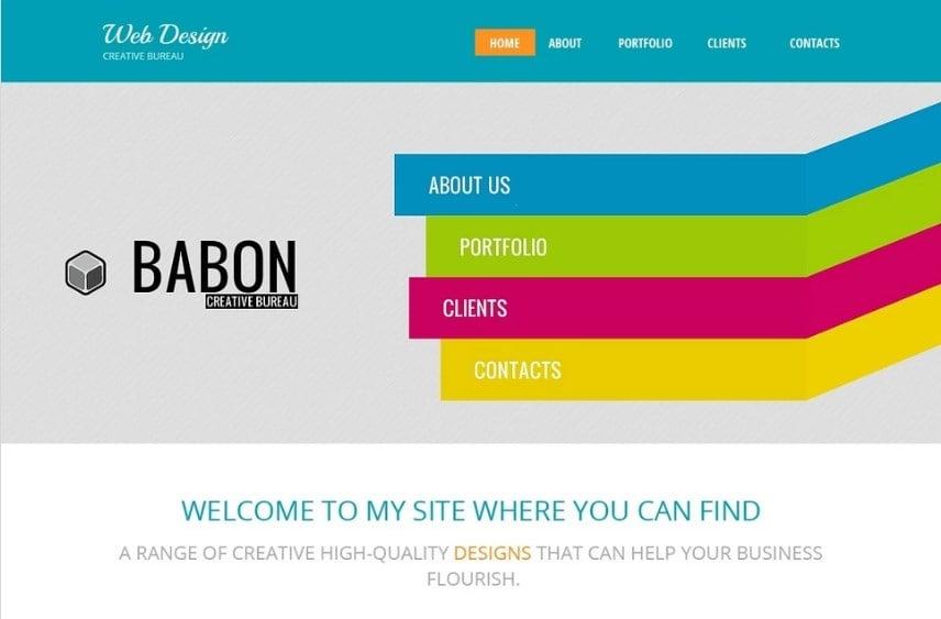 Design Studio Free HTML5 Theme Website Template