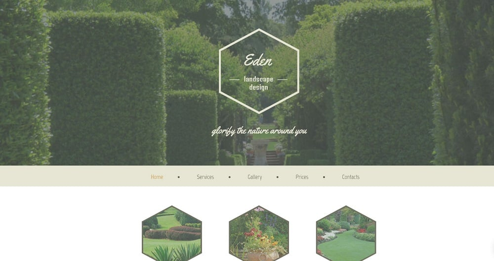 Free HTML5 Theme for Exterior Design Website Website Template