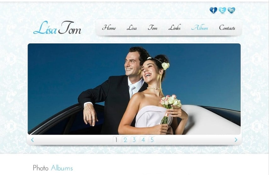 Free Website Template - Clean Style Website Template