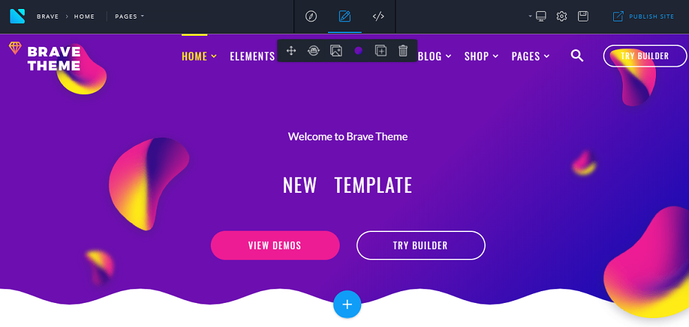 Install and Edit Brave Theme