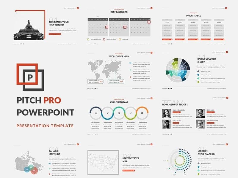 25 Trendy Premium Powerpoint Presentation Templates 2019