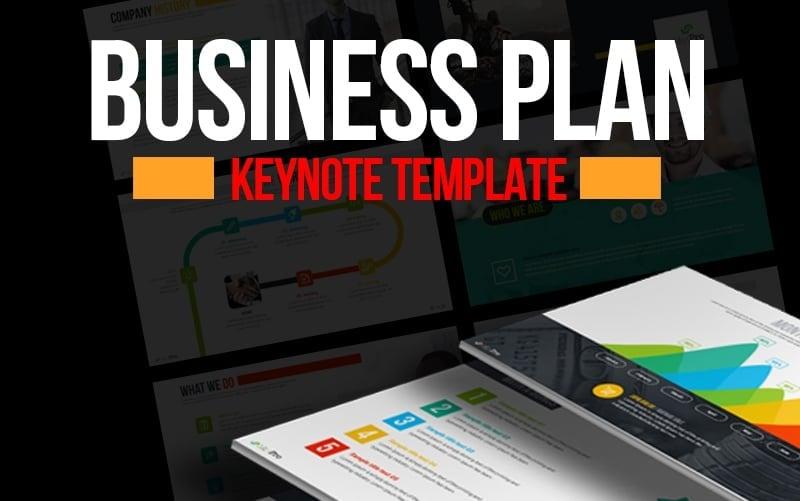Business Plan Presentation Keynote Template