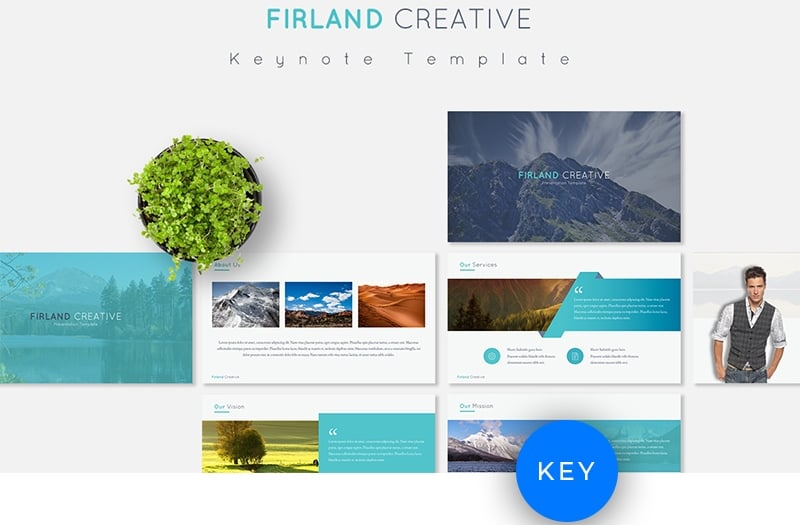 Firland Keynote Template