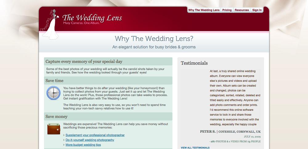 Wedding Lens