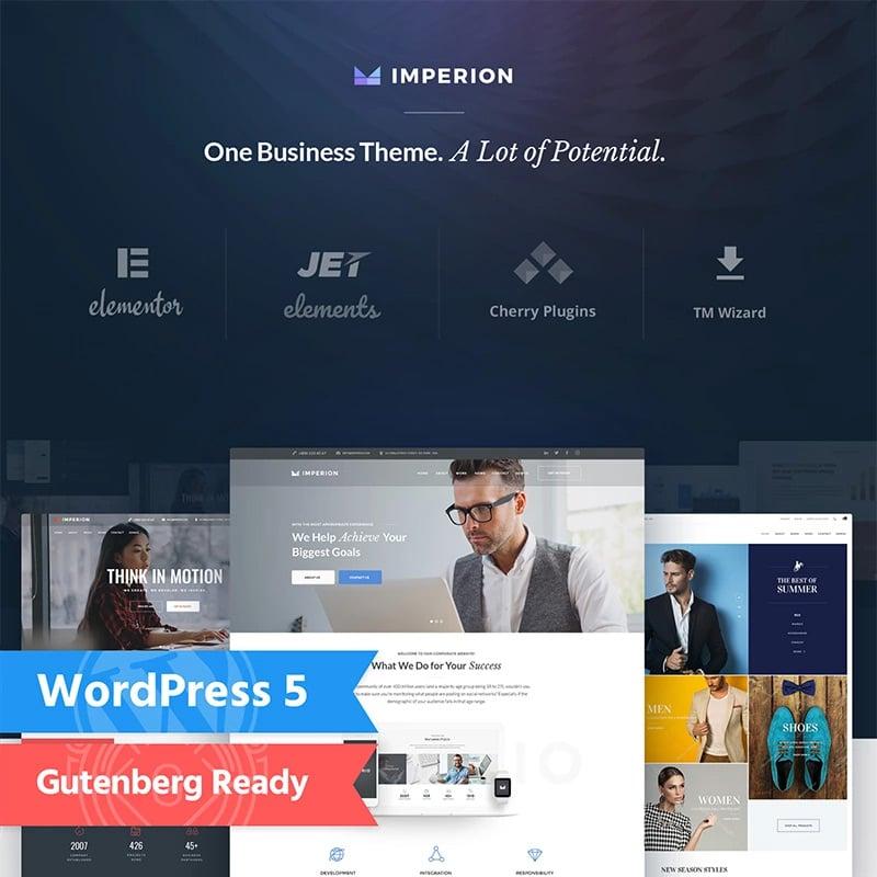 многоцелевой Corporate WordPress Theme