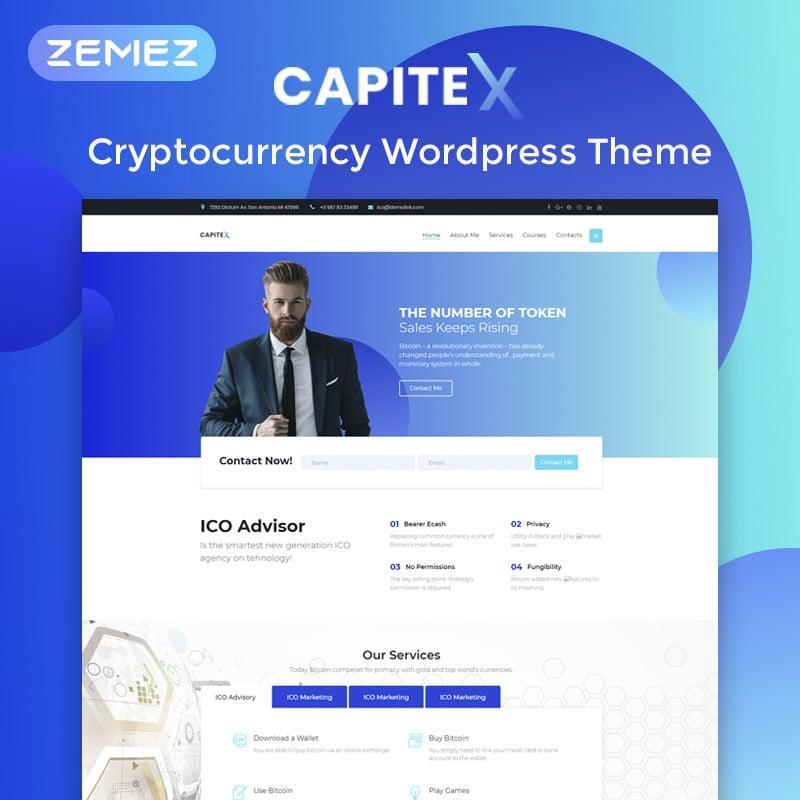 ICO Marketing Elementor WordPress Theme