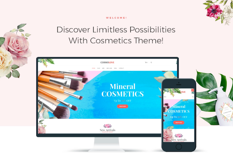 Cosmolove - Cosmetics Store Elementor WooCommerce Theme