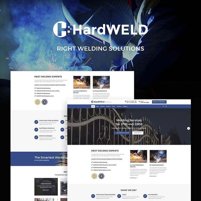 Welding Service Responsive WordPress Theme
