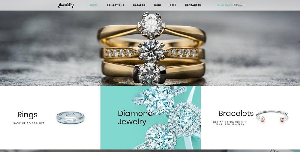 JewelShop - Accessories Elegant Shopify Theme
