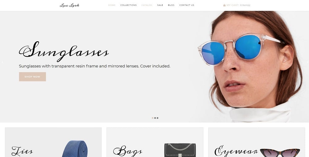 Lux Look - Accessories Elegant Shopify Theme