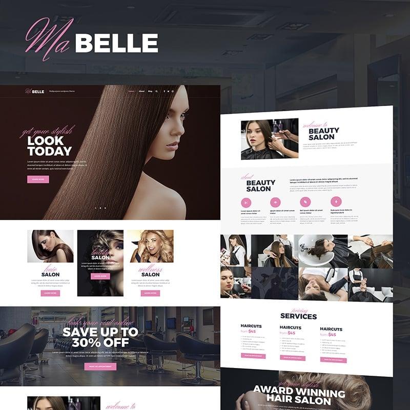 Beauty Salon WordPress Theme