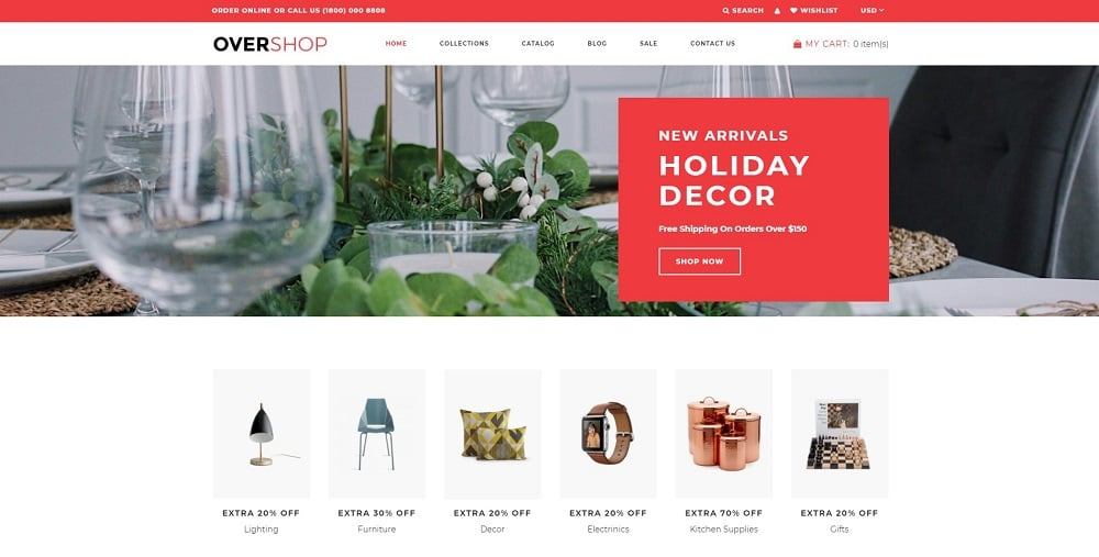 Overshop - Wholesale Store Modern Shopify Theme