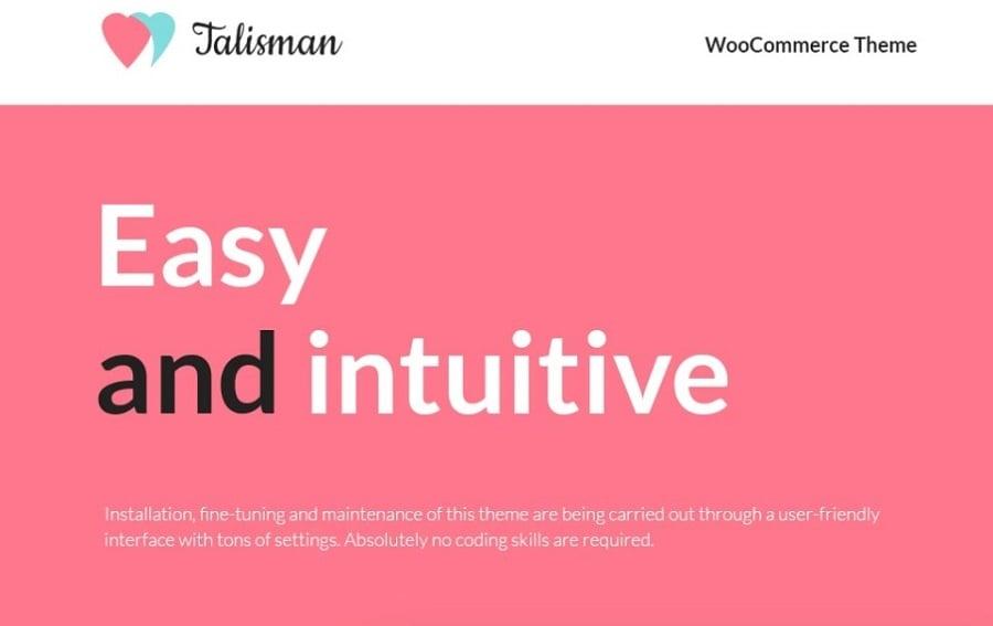 Talisman - Gifts Store Responsive WooCommerce Theme