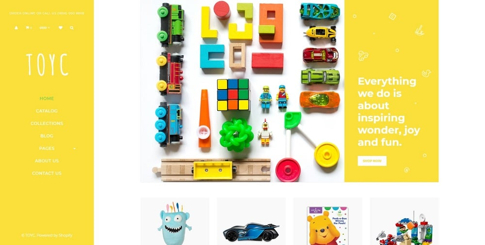 Toyc - Toy Store Clean Shopify Theme