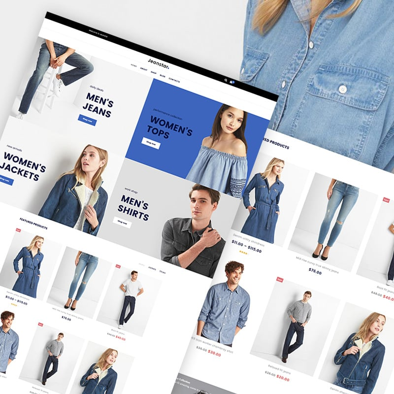 Clothes Store Elementor WooCommerce Theme