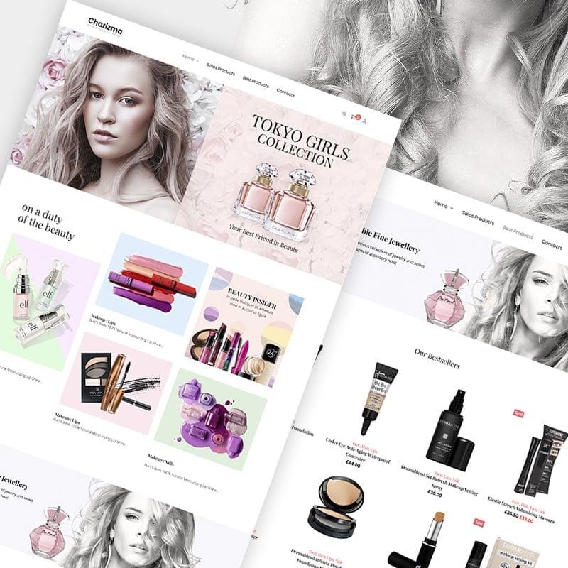 Cosmetic Store Elementor WooCommerce Theme