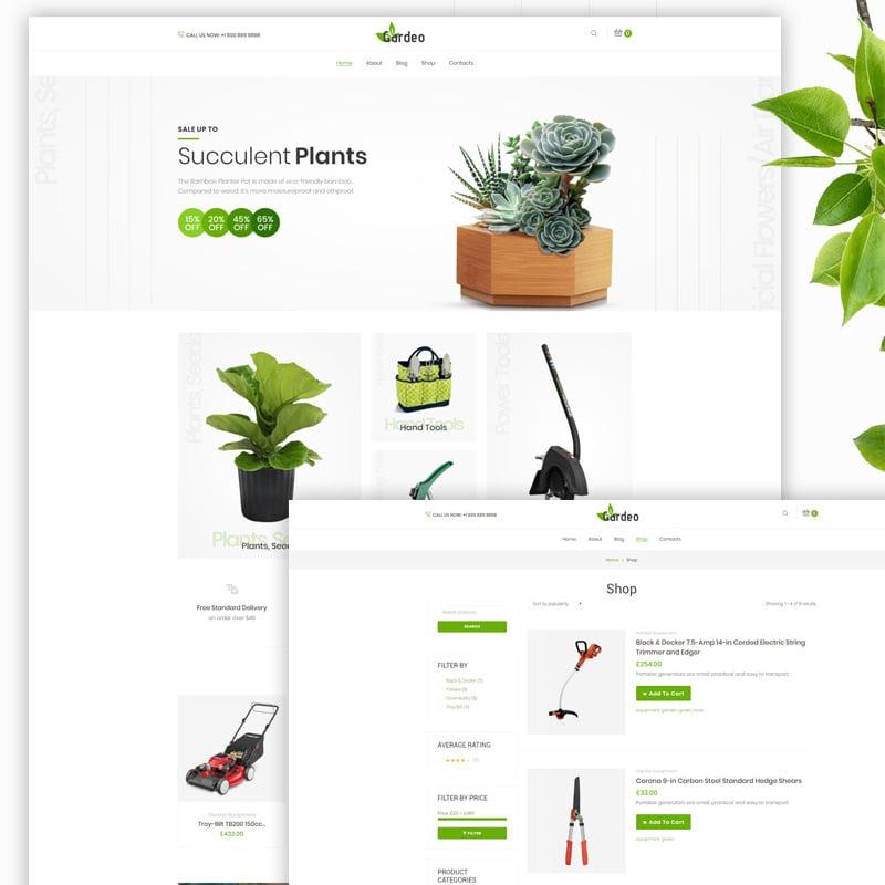 Garden Equipment Elementor WooCommerce Theme