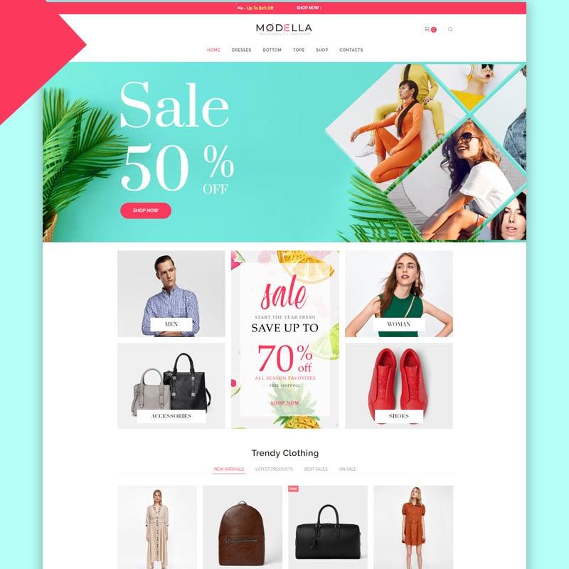 Fashion Store Elementor WooCommerce Theme