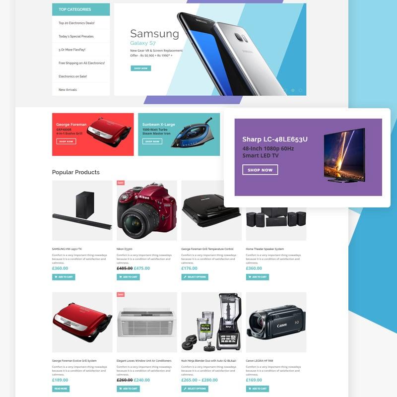 Electronics Shop Elementor WooCommerce Theme