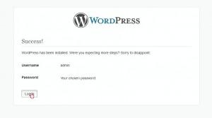 WordPress. How to install the engine to GoDaddy server