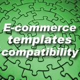 E-commerce templates compatibility