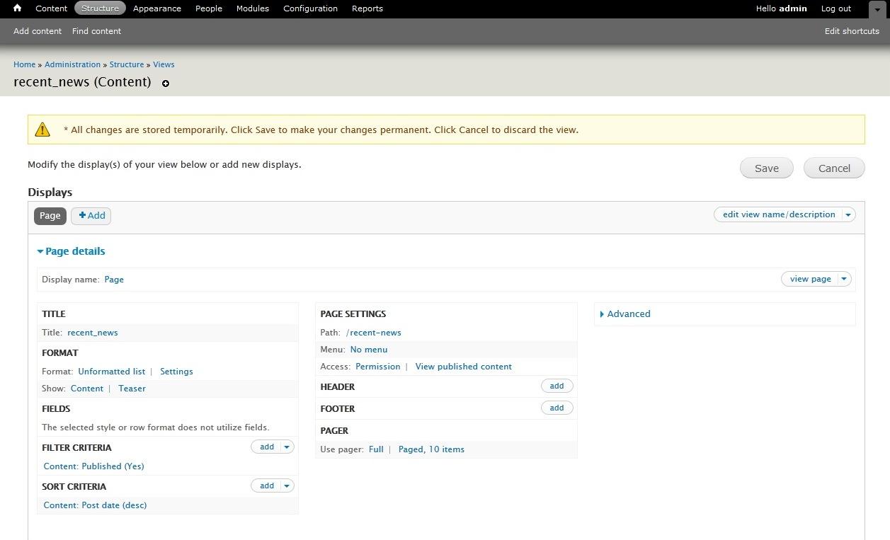 Drupal 7 c mo utilizar el m dulo de vistas y editar for Drupal 7 view template