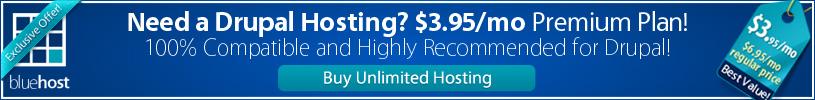 recommended drupal hosting