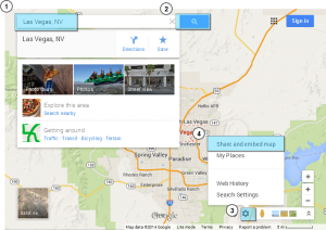 how to change your location on google maps