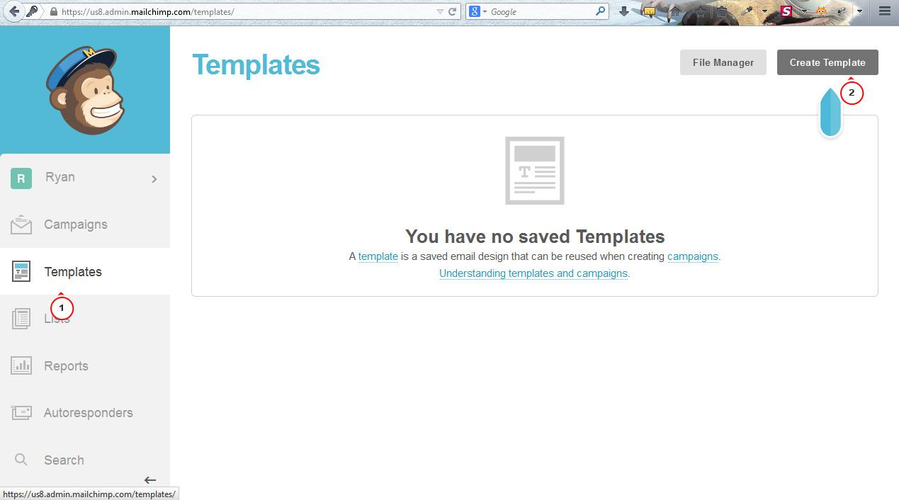 newsletter email templates mailchimp integration template monster help. Black Bedroom Furniture Sets. Home Design Ideas