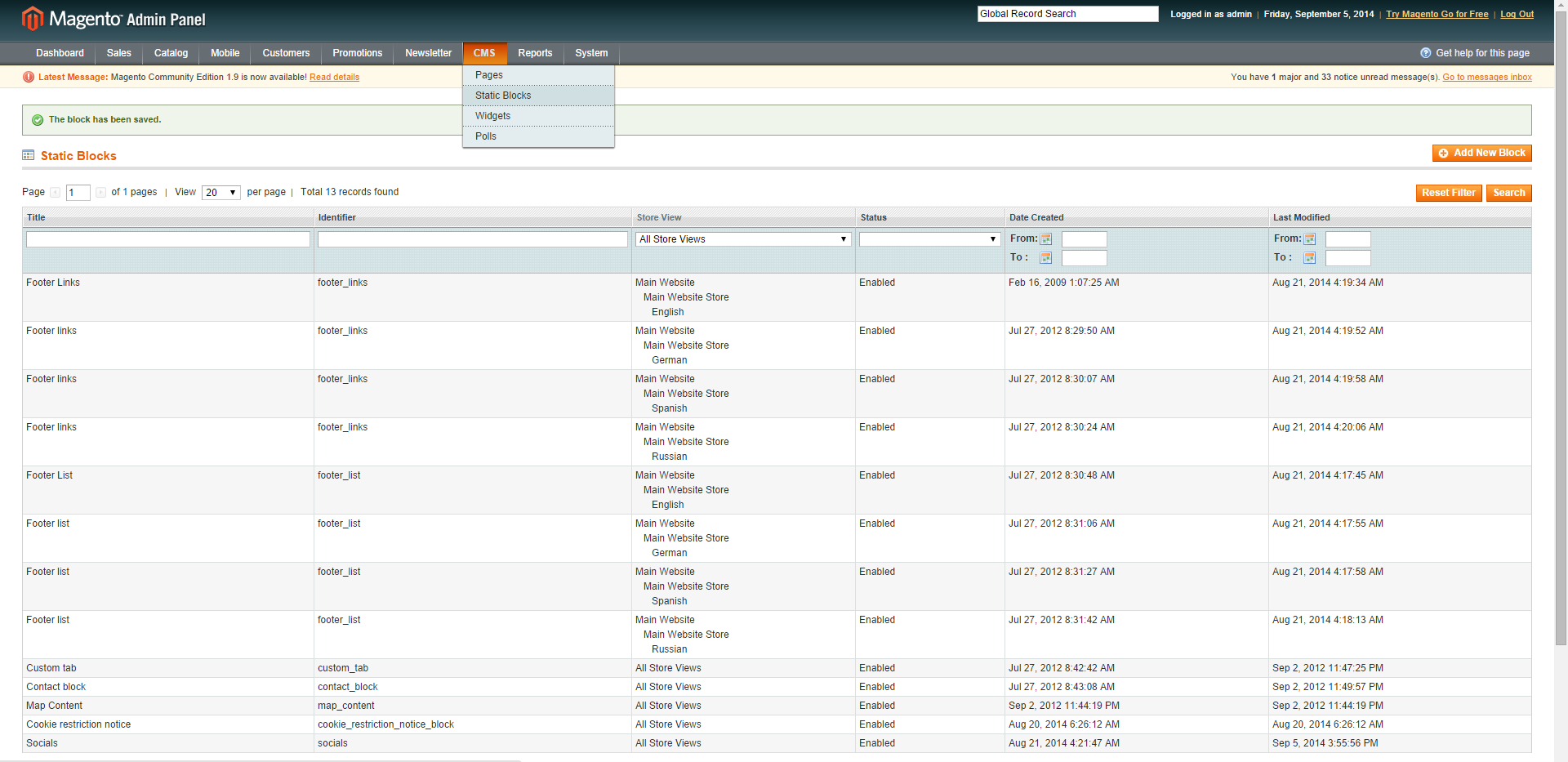 View product in frontend from Magento admin