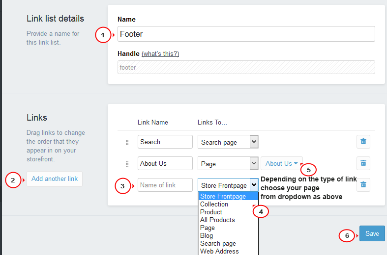 how to delete a page on shopify