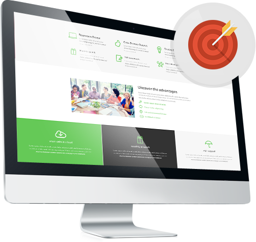landing page template template monster help
