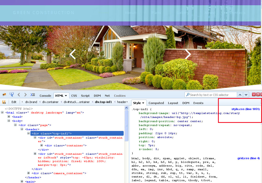 how to change background color in css