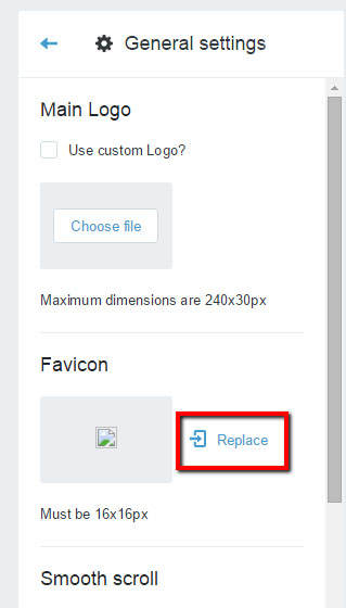 how to change a favicon in shopify