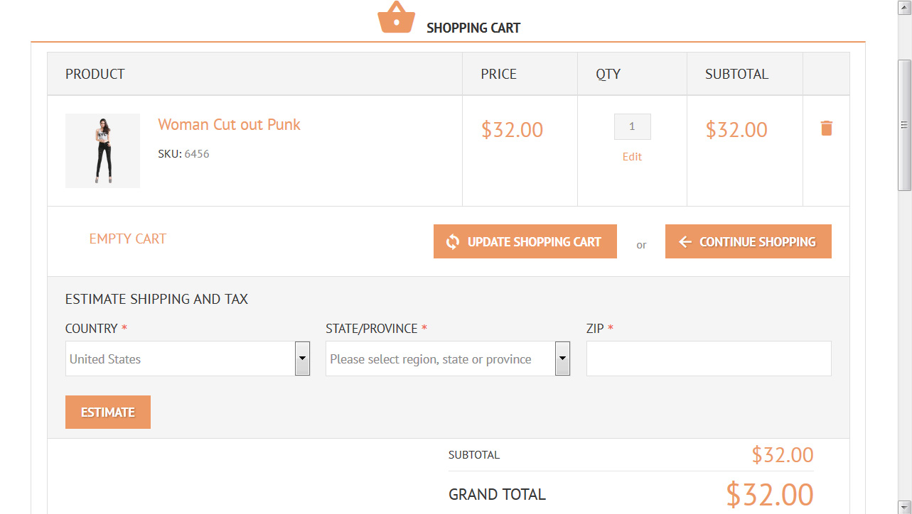 Magento. How to remove discount field from the cart page