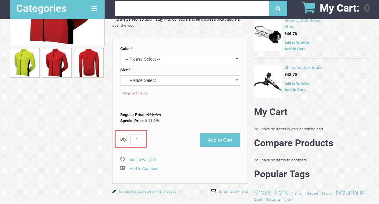 how to remove quantity box on product details page1