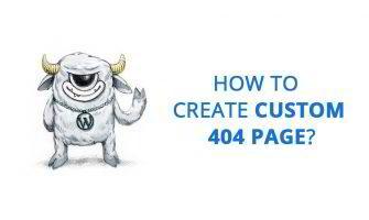 How to Create Custom 404 Page?