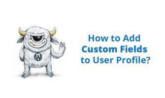 Add Custom Fields to User Profile in WordPress
