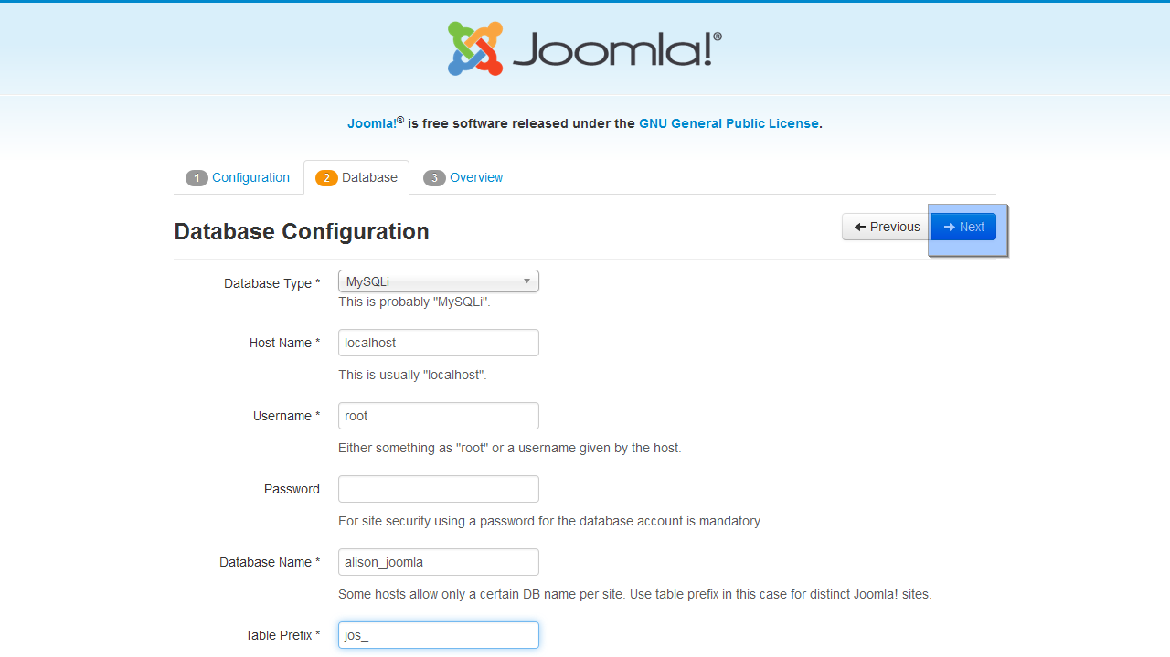 joomla 3 x how to install engine and template on localhost