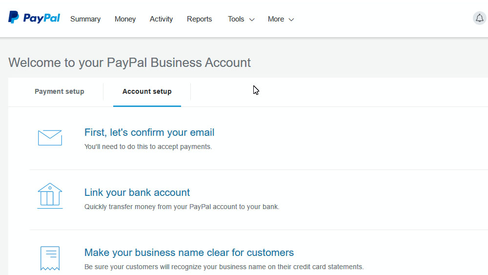 how to pay to pay pal account