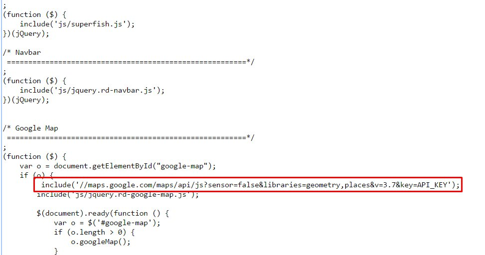 Multipurpose website templates google maps do not show up api key issue template monster help - Api up ...
