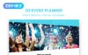 """O2 - Event Planner Modern"" thème Joomla adaptatif New Screenshots BIG"