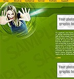 denver style site graphic designs green youth music entertainment media communications recreation horizontalmenu simple
