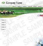 denver style site graphic designs white horses sport sports creative entertainment communications speed force race green horizontalmenu simple
