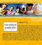 denver style site graphic designs yellow family recreation entertainment travel youth java menu camping dog kid baby horizontalmenu simple