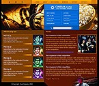 denver style site graphic designs cinema portal movie house blockbusters films entertainment