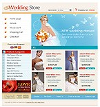 OsCommerce: Online Store/Shop Wedding osCommerce Templates