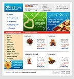 OsCommerce: Online Store/Shop Gifts osCommerce Templates St. Valentine