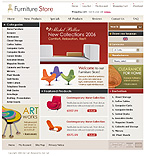 Zen Cart: Interior & Furniture Online Store/Shop Most Popular Zen Cart Templates